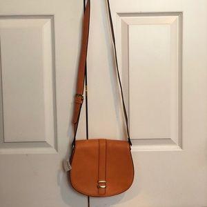 Neiman Marcus Orange Crossbody Bag